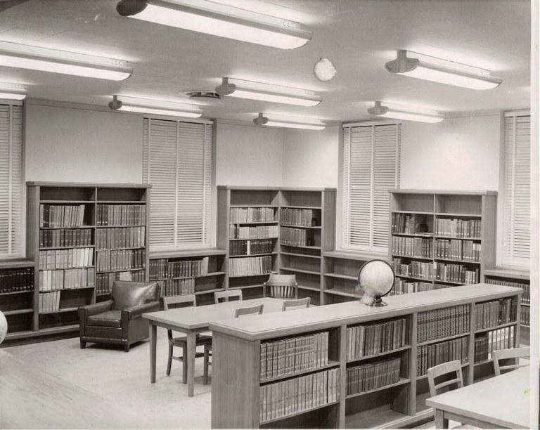 Gibbs Memorial Library, original building