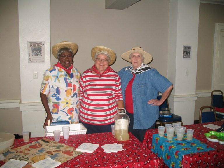 Mary, Betty and Nan